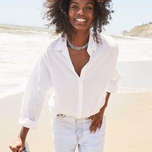 XiRENA Tops - Xirena White Beau Shirt